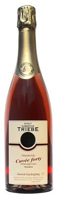 Cuvée forty Rosé Sekt trocken - Weingut Hubertus Triebe
