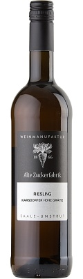 Riesling DQW trocken 2019 - Weinmanufaktur Alte Zuckerfabrik