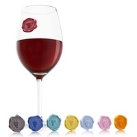 Vacu Vin Glasmarker Weinsiegel