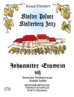 Johanniter Eiswein süß 2016 - Weingut Schulze