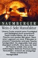 Cuvée Sekt 1824 extra brut - Naumburger Wein- und Sektmanufaktur