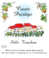 Cuvée Sekt Prestige trocken - Weingut Schulze