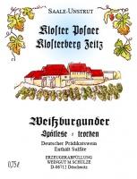 Weißburgunder Spätlese trocken 2020 - Weingut Schulze