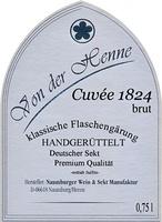 Cuvée Sekt 1824 brut - Naumburger Wein- und Sektmanufaktur