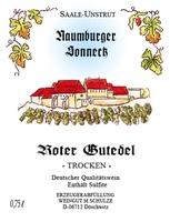 Roter Gutedel Rosé DQW trocken 2017 - Weingut Schulze